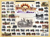 Wheels That Won The West® Print