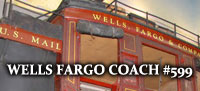 Wheels That Won The West Wells Fargo Coach #599