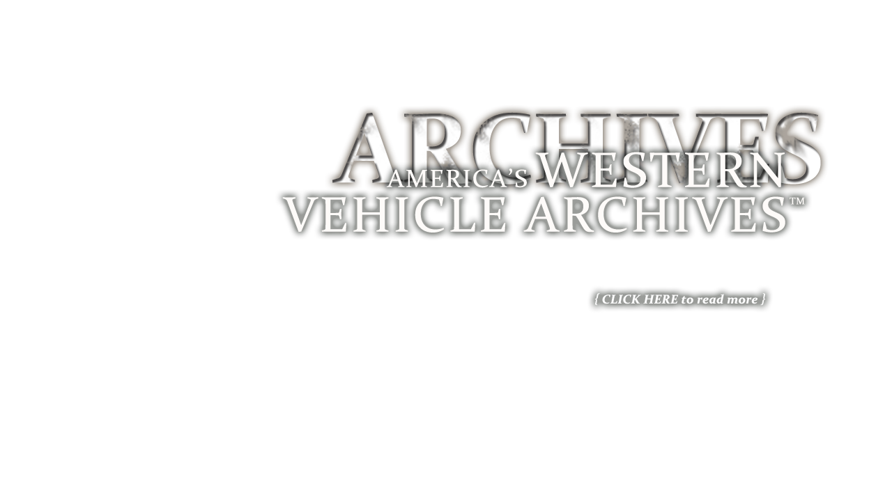 America's Western Vehicle Archives